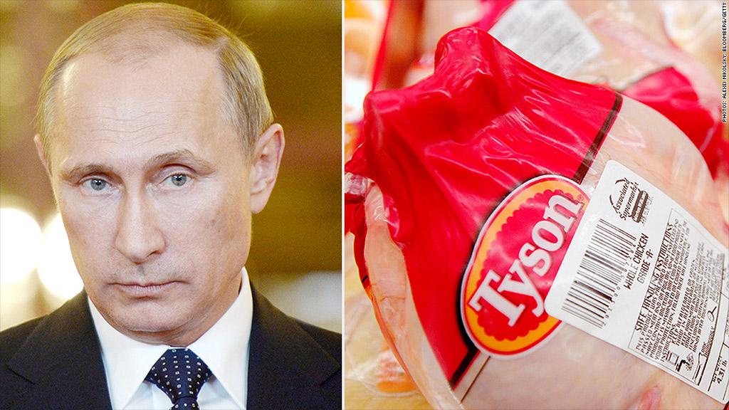 俄罗斯禁止美国鸡肉
