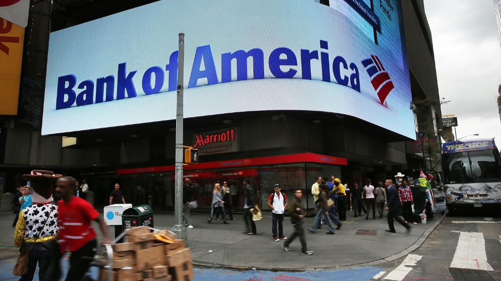 Bank of America nears mortgage settlement