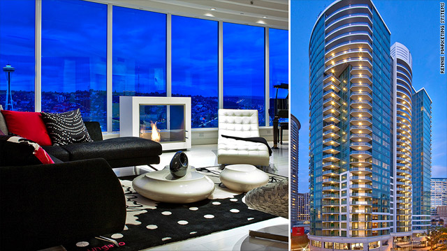 The View From Living Room Of Gest In Escala Apartment Building Seattle Fifty Shades Grey Is Set There