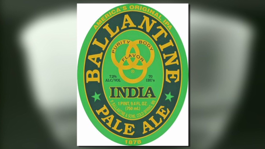 History to hipster: Ballantine IPA