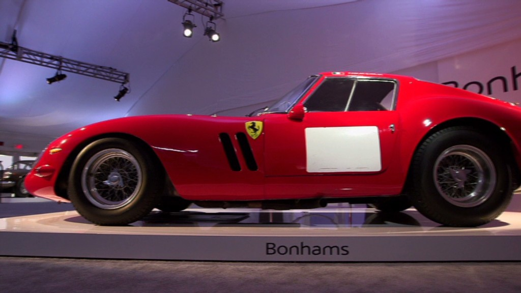 Most expensive car ever - Ferrari GTO sells for $38 million