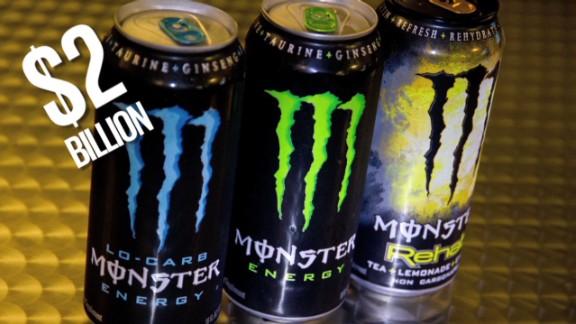 Coca-Cola takes a big gulp of Monster
