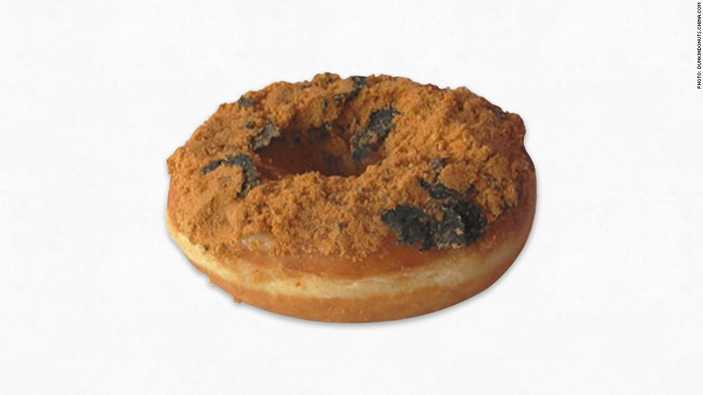 zany food pork donut