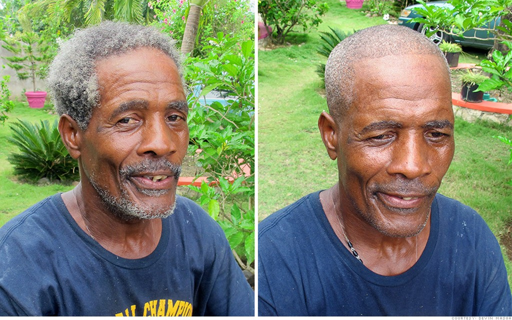 homeless haircuts sloshball