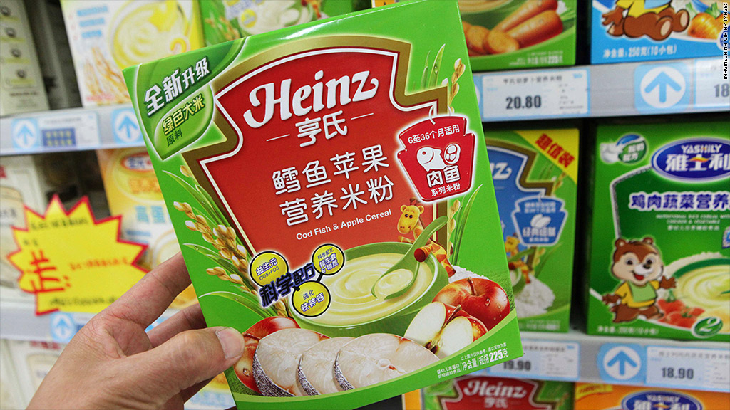 heinz china baby food