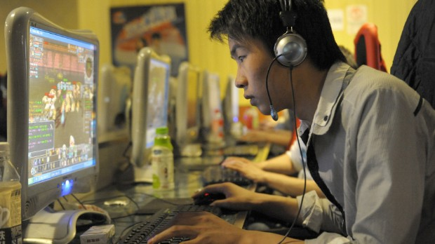 Chinese youth check in to internet rehab