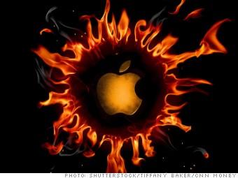 apple on fire 2