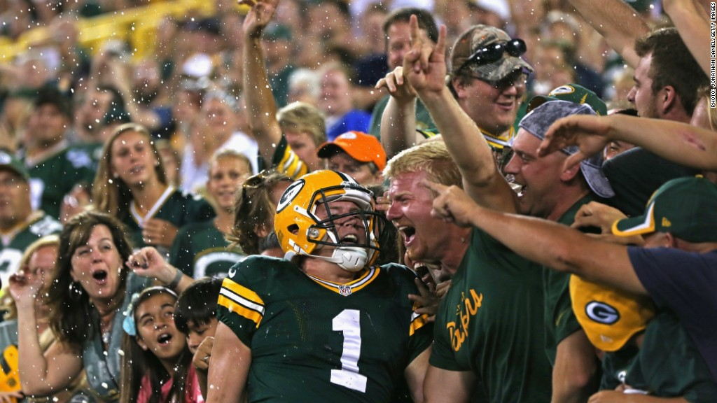 Green Bay Packers sports gambling