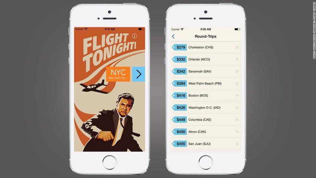 travel apps flight tonight