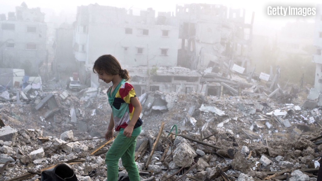 Cost to rebuild Gaza: $4-6 billion