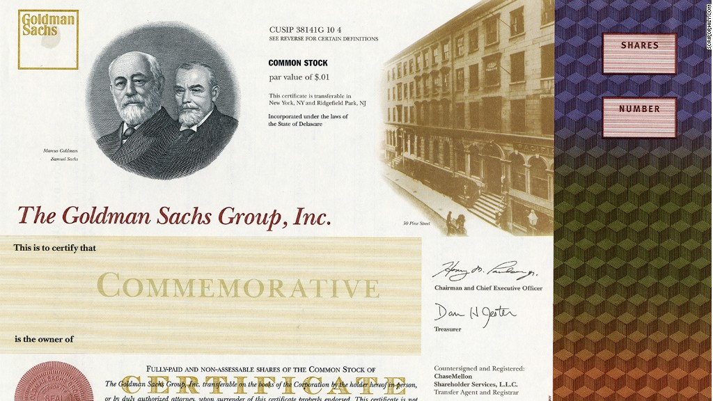 The Ultimate Office Decoration Stock Certificates