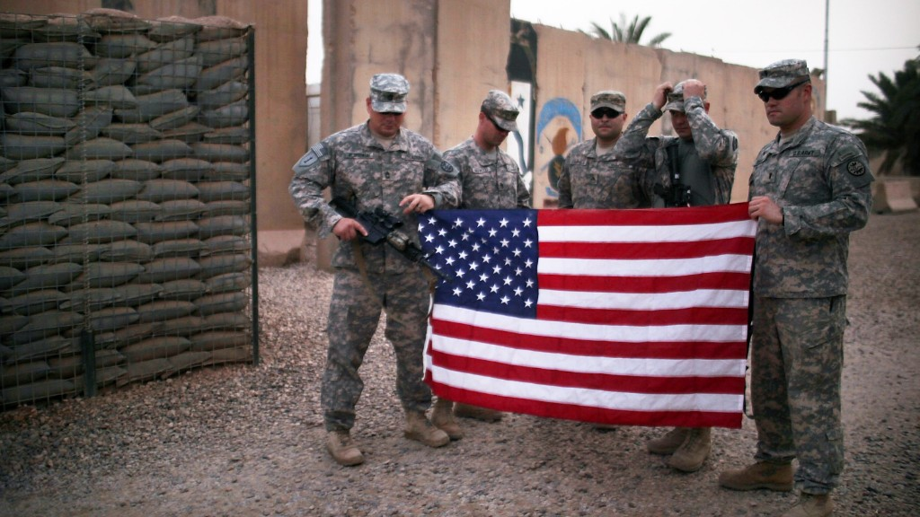 The cost of going back to Iraq