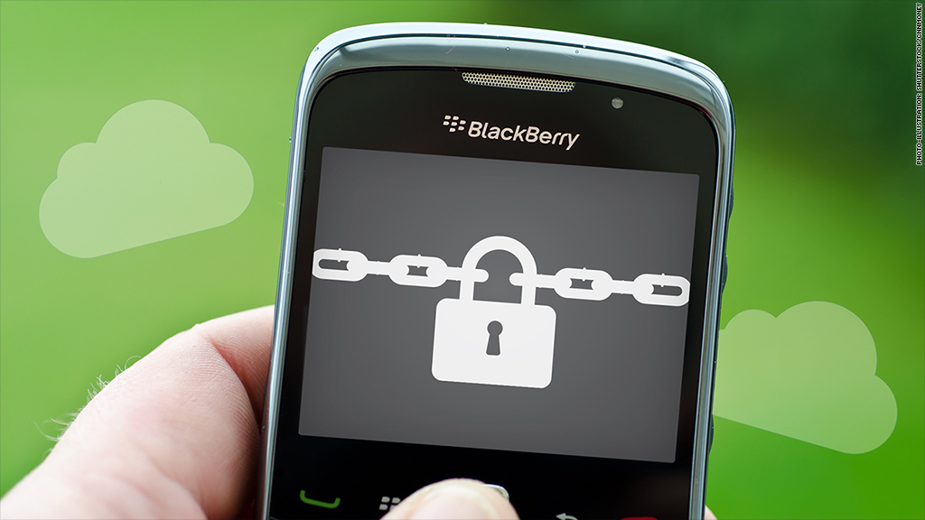 blackberry cloud security