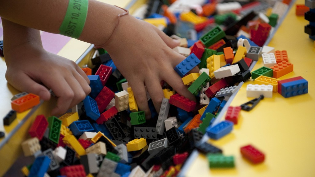 Lego's domination, brick by brick