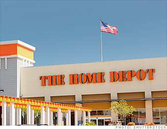 credit card hacks home depot