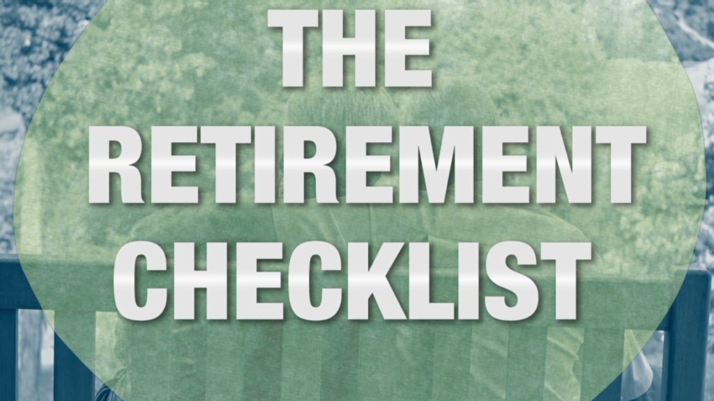 The retirement checklist
