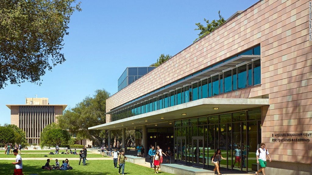 highest paid grads harvey mudd college