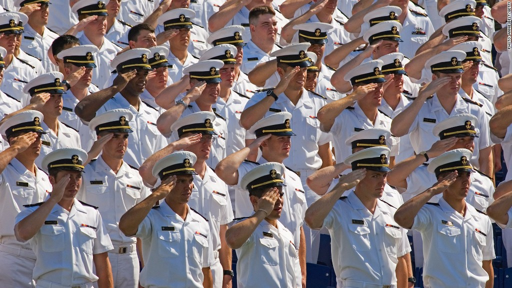highest paid grads us naval academy