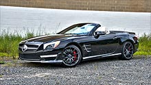 Mercedes SL65 AMG: 621 horses of topless power