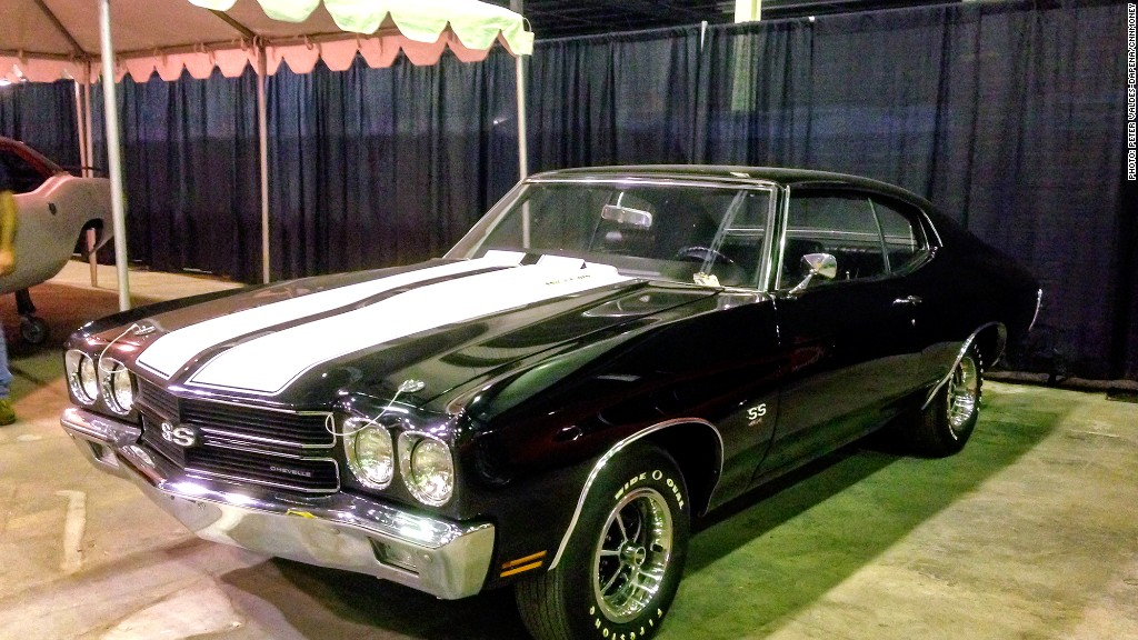 1970 Chevelle SS 454 - Criminal\'s muscle car collection auctioned ...