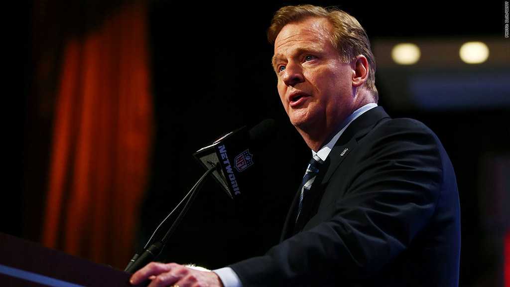 roger goodell speaking