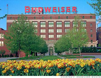 top employers anheuser busch