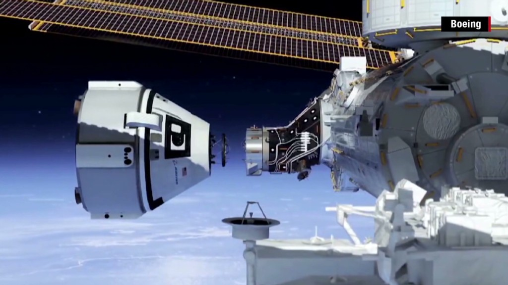 Boeing & SpaceX win the business of space
