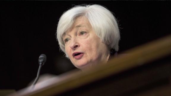 Thank Janet Yellen: stocks hit new record