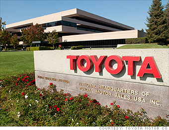 top emplyers toyota