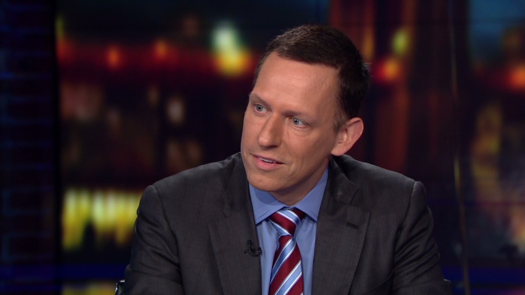 Peter Thiel: Apple Pay isn't a breakthrough