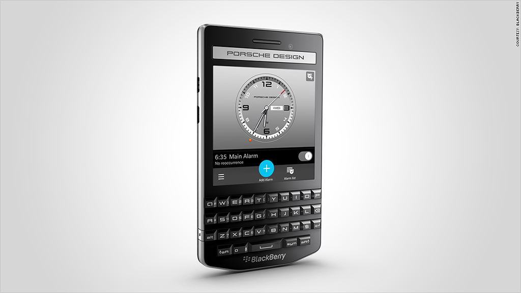 blackberry porsche smartphone