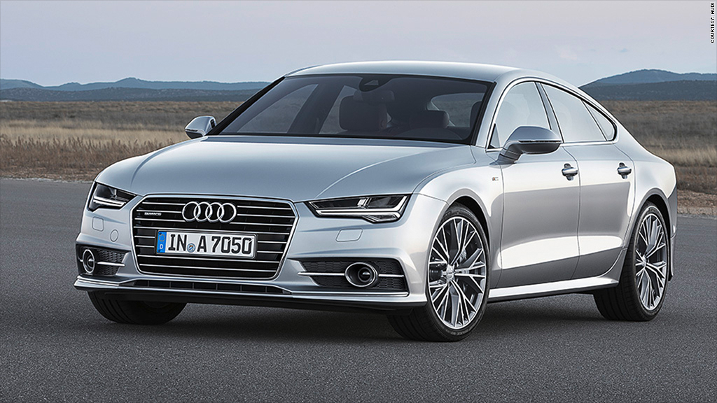 California Approves First Tests For Selfdriving Cars - Audi self driving car