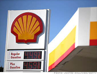 top employers shell