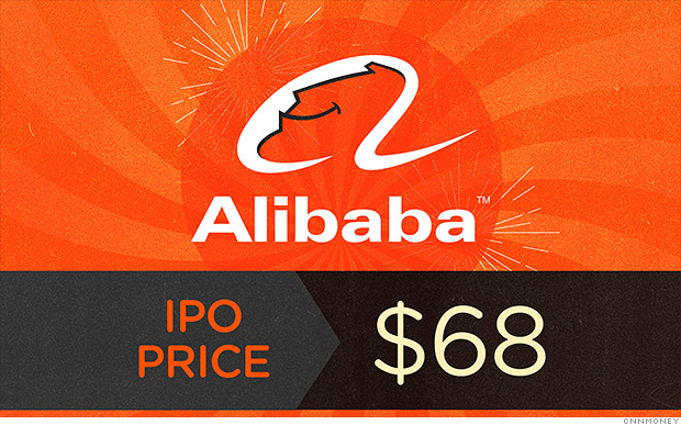 When did alibaba go ipo