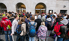 Apple's iPhone 6 goes on sale, and the lines are insane