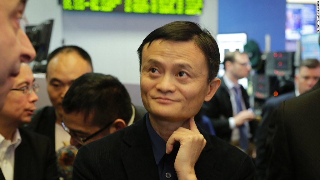 Jack Ma Alibaba Amazon IPO