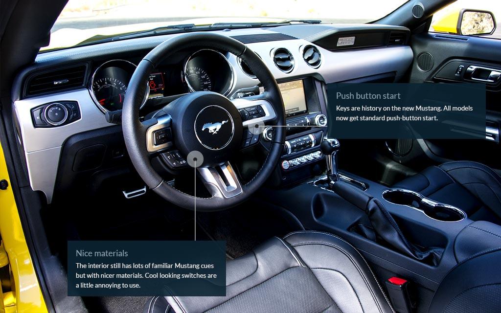 2015 Mustangu0027s Asphalt Peeling Power Goes Modern