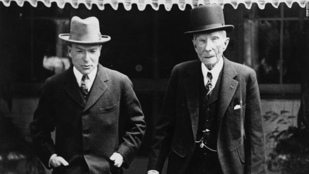 Rockefeller fund drops fossil fuels