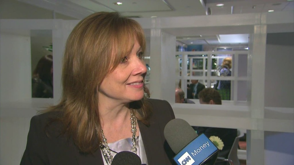 After recall crisis, GM CEO is 'impatient'
