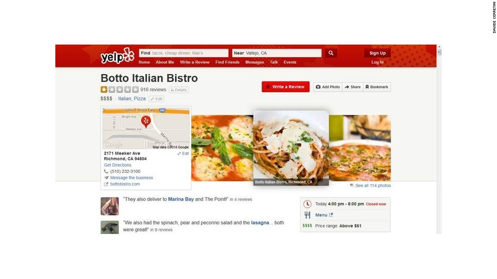 yelp hate screenshot