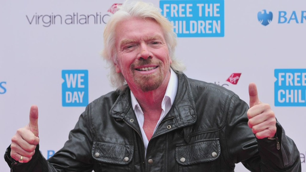 Richard Branson's advice to his younger self?