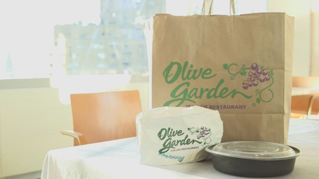 Is Olive Garden food that bad? We tried it