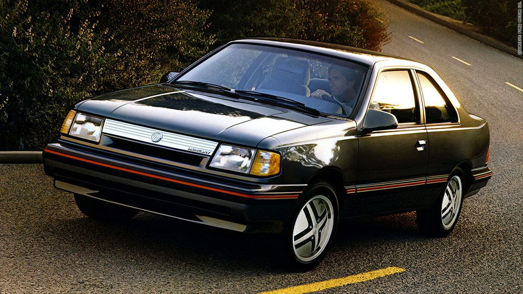 Mercury Topaz Here Are The 20 Most Ticketed Cars In
