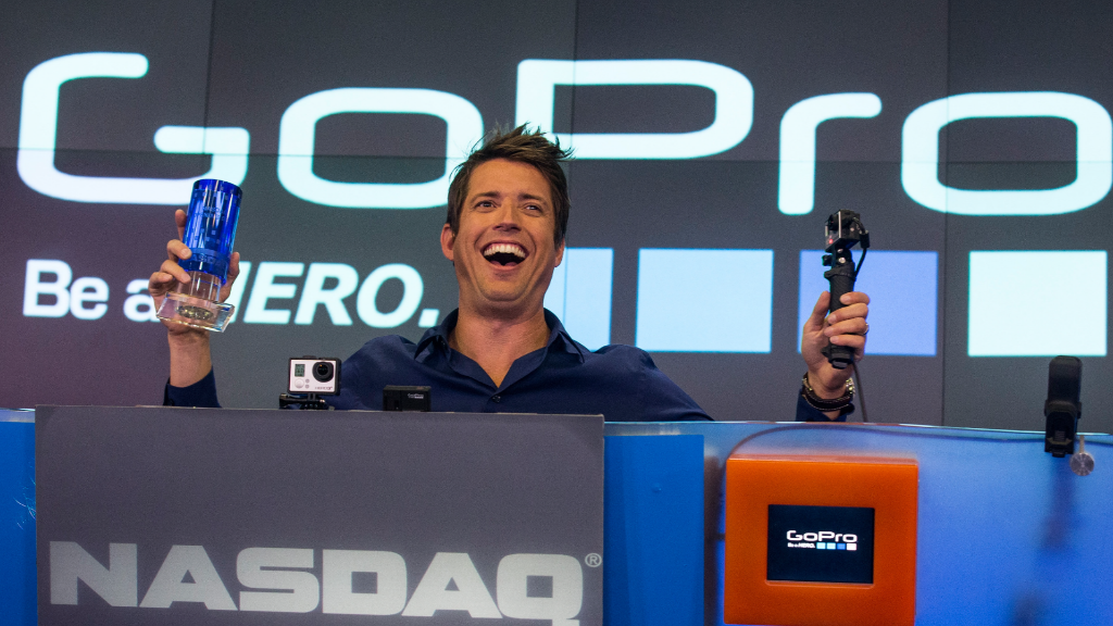 CEO: Leading GoPro is like racing a car