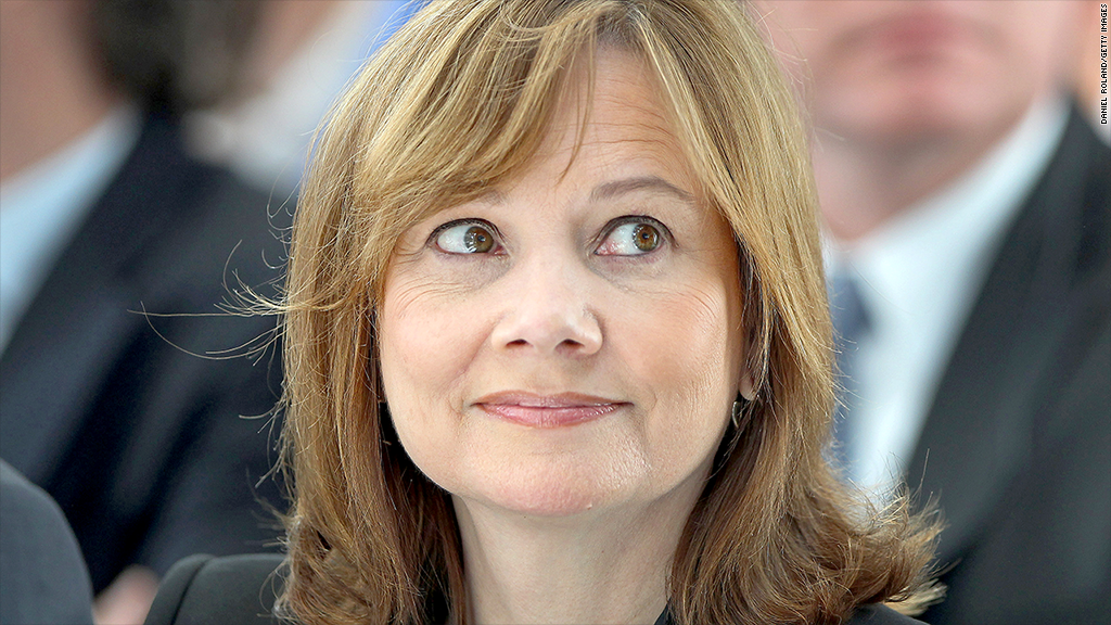 mary barra happy