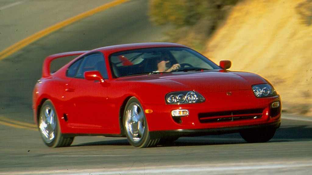 Toyota Supra - Here are the 20 most ticketed cars in America - CNNMoney
