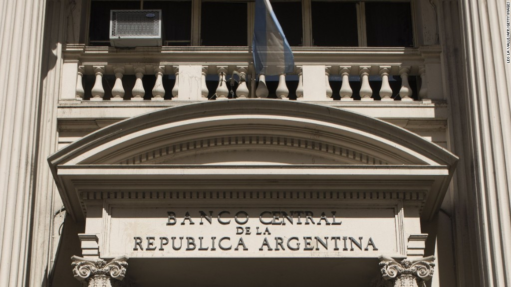argentina central bank resignation