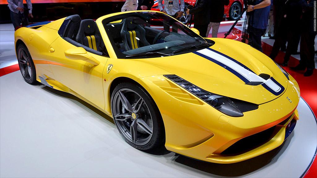 gallery paris auto show ferrari 458 speciale