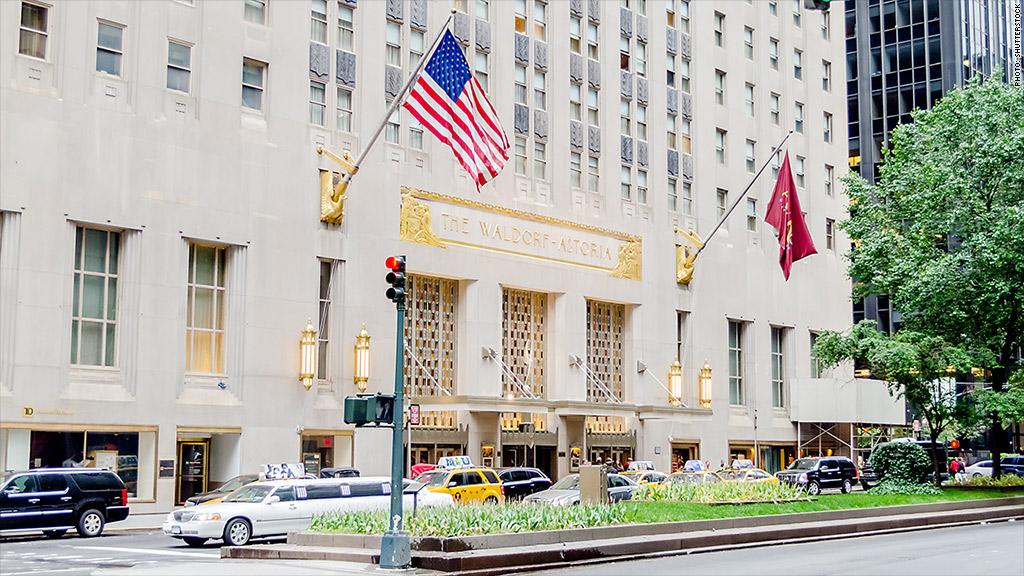 Hilton Sells New York Luxury Hotel Waldorf Astoria To