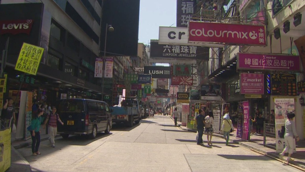 Business fed up with Hong Kong's Occupiers